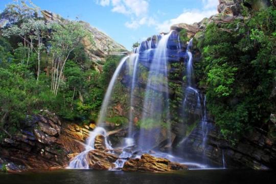 pontos turisticos da serra do cipo-Cachoeira Congonhas